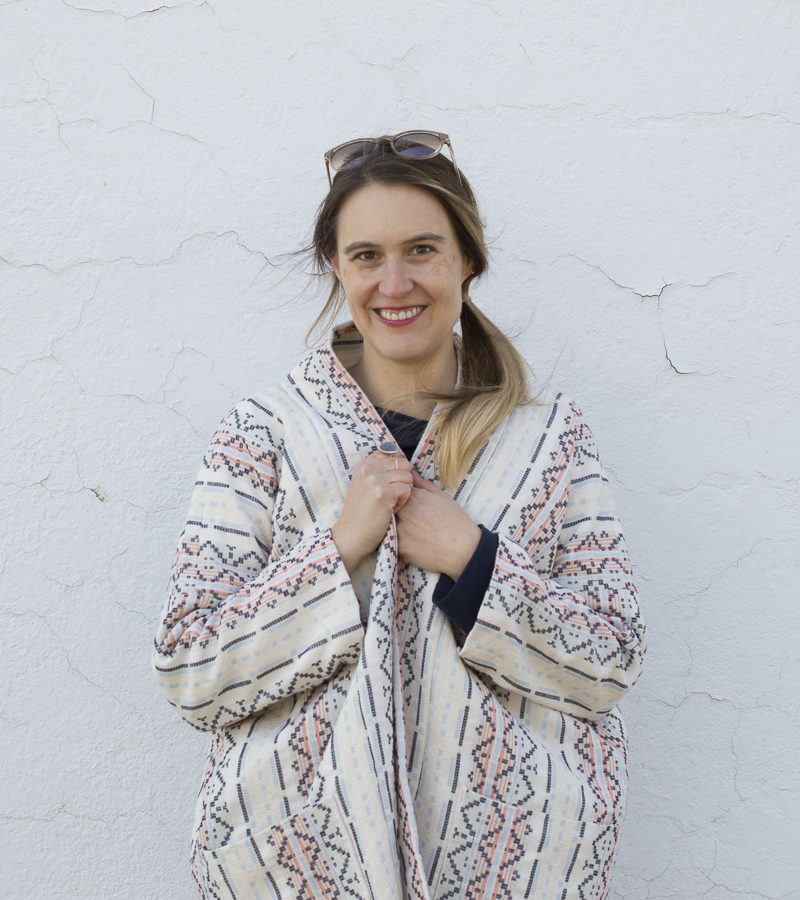 Wiksten Haori Jacket _ Sewn by Melissa Quaal of A HAPPY STITCH