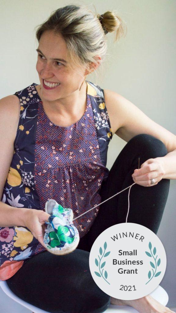 Spoonflower Small Business Grant Winner_A HAPPY STITCH_Melissa Quaal