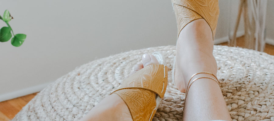 The Artist Series : Leather Sandals from Nikki and Mallory