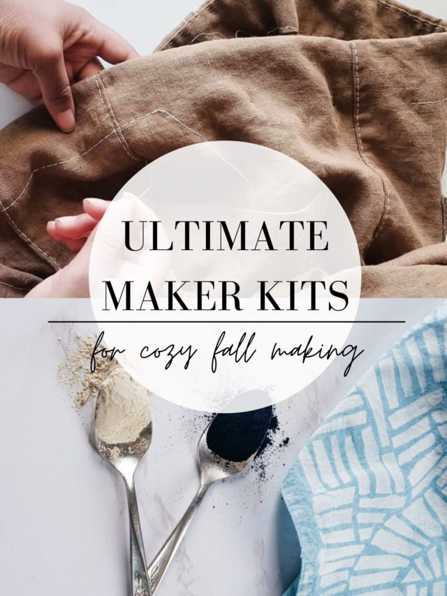 Ultimate Maker Kits_Gift Guide for Creatives from A HAPPY STITCH