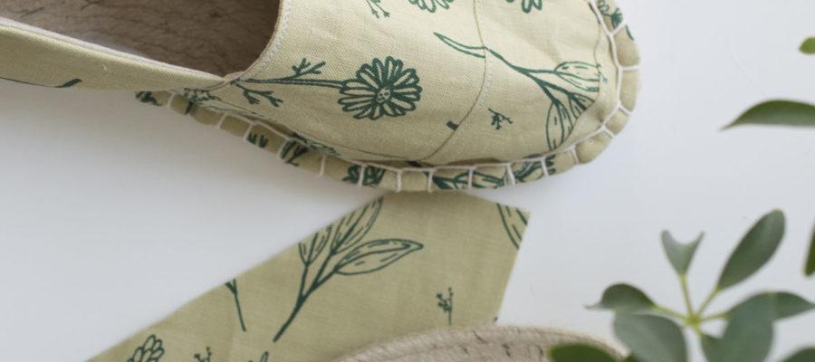 How To :: Scrap Fabric Espadrilles